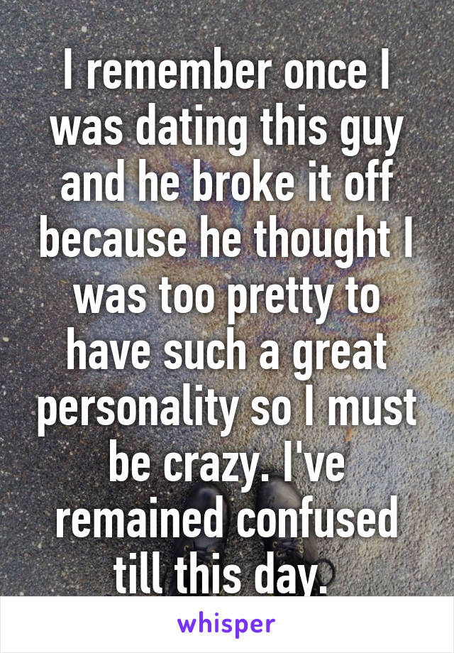 Dating a closed off personality