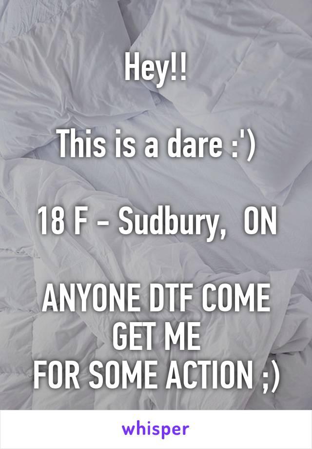 Anyone dtf