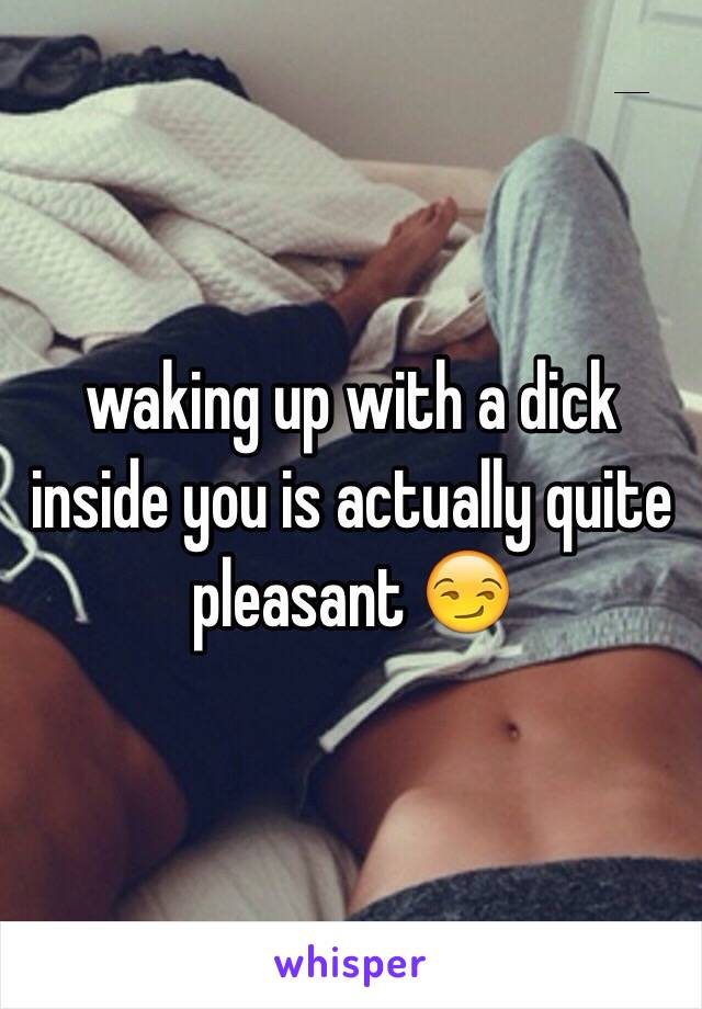 Dick inside of dick