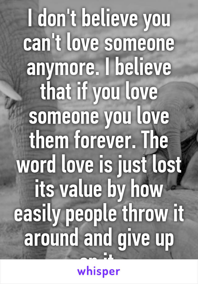 how do you know if you love someone anymore