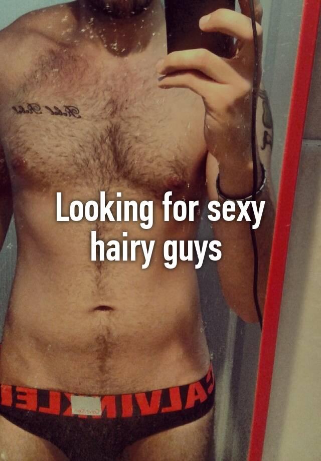 Sexy hairy boys