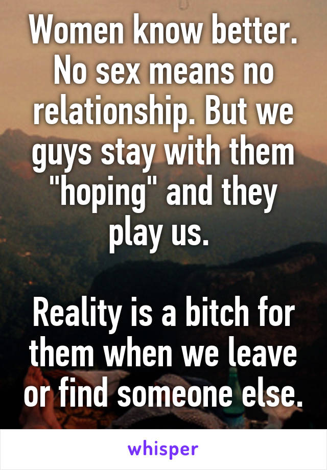 No sex in a relationship means what