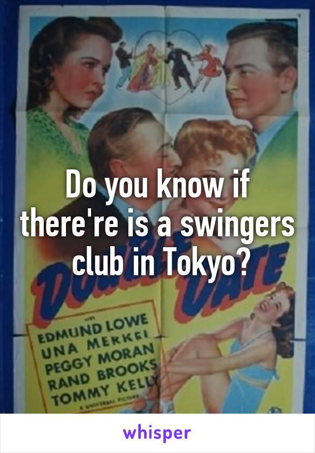 swingers club in tokyo