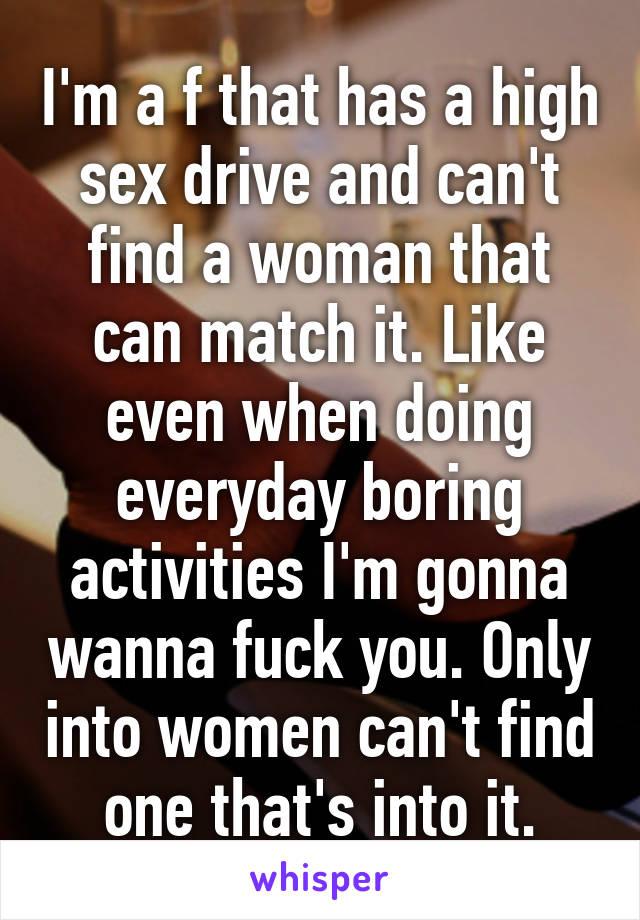 High sex drive in women