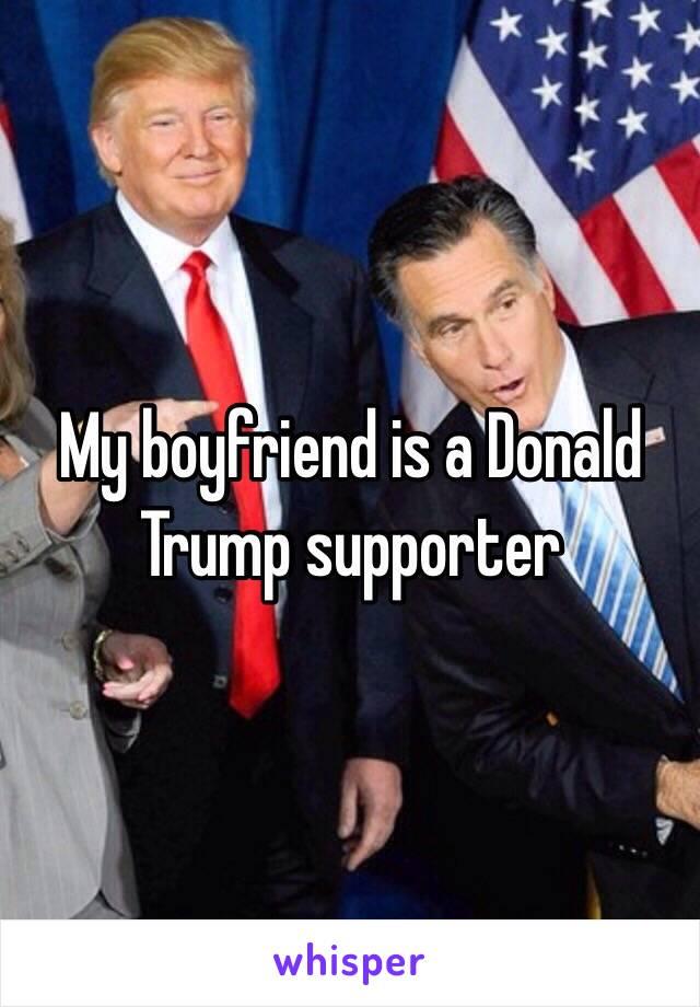A is republican boyfriend my Why is