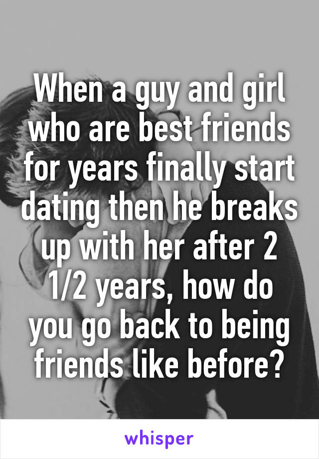 When To Forward From Friends To Dating