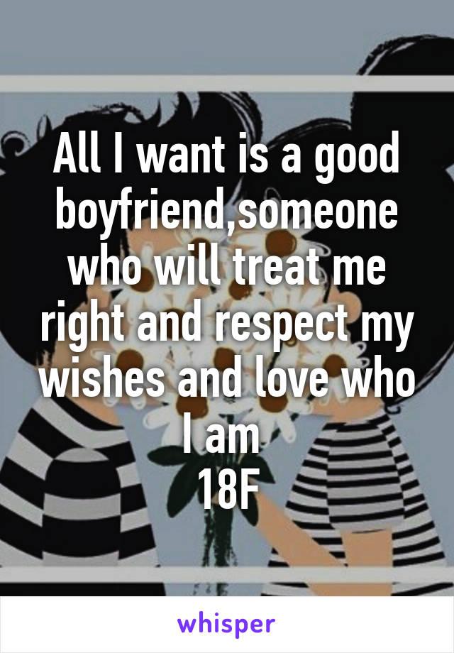 is my boyfriend a good boyfriend