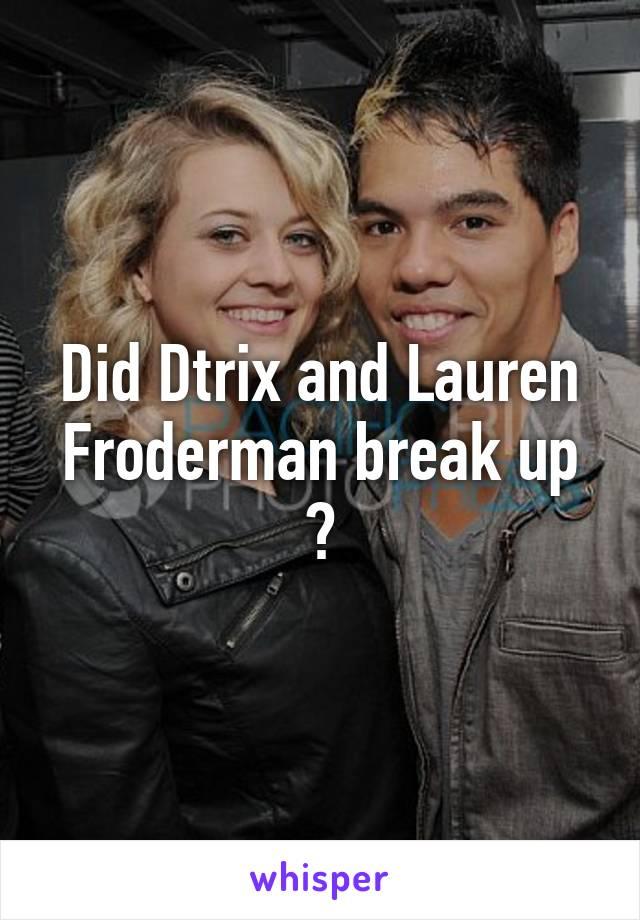 Lauren froderman dominic sandoval dating