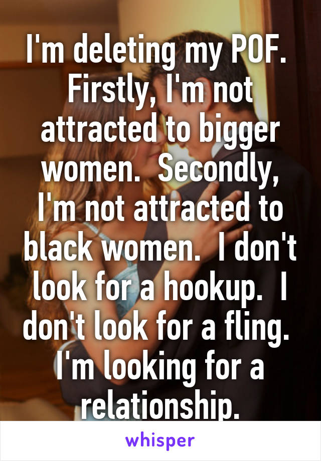 Hookup someone i am not attracted to