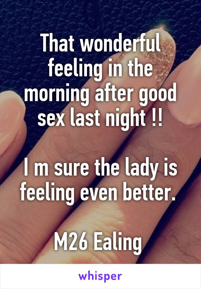 feeling down after sex