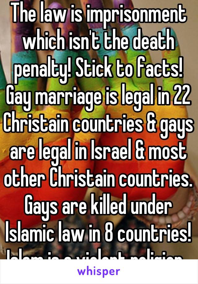 and facts Law gay marriage