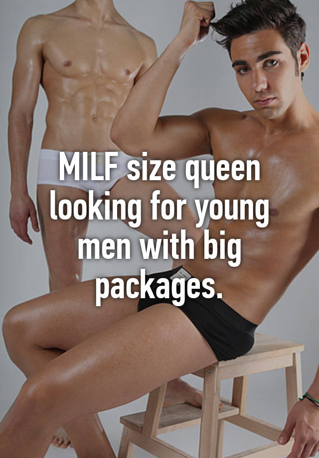 Milf looking for young