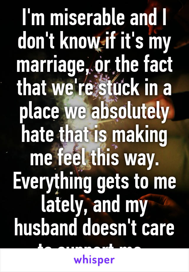 My Marriage Is Making Me Depressed