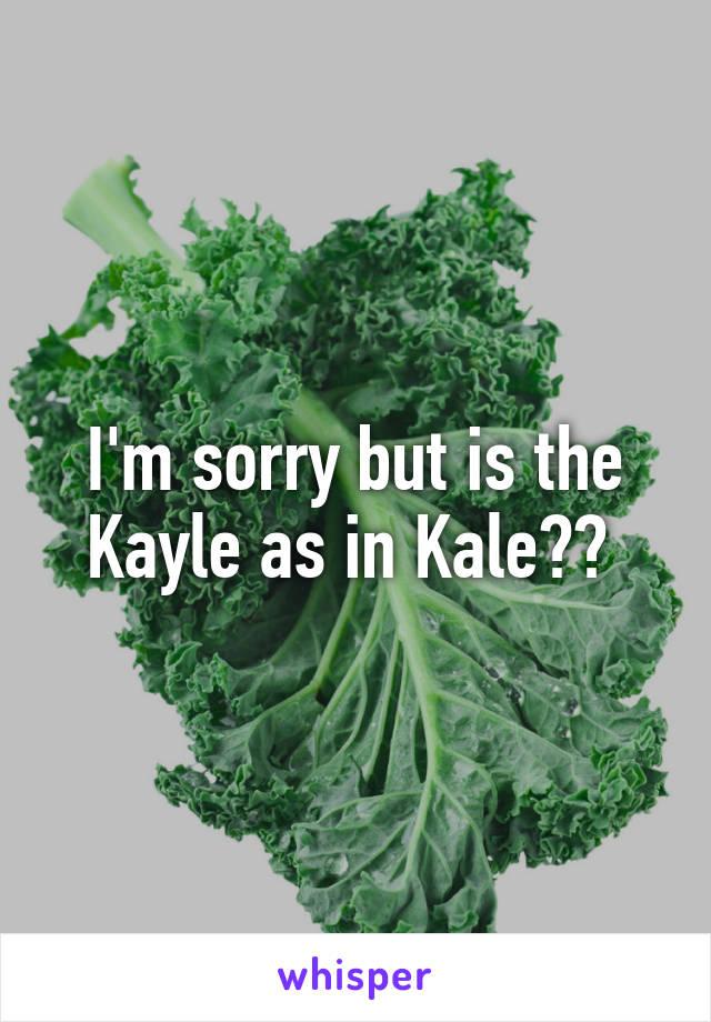 Kayle food