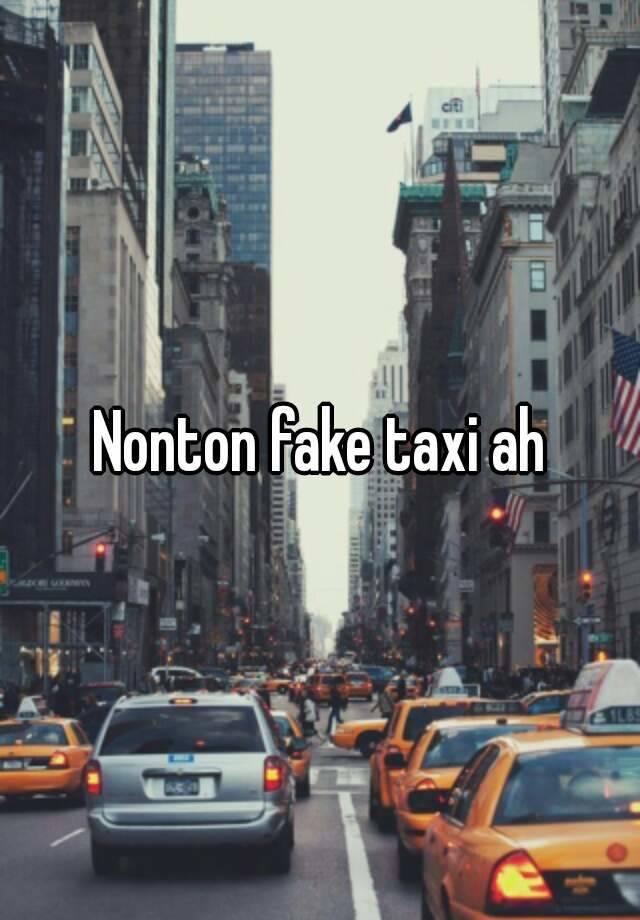 Fake taxi honesty