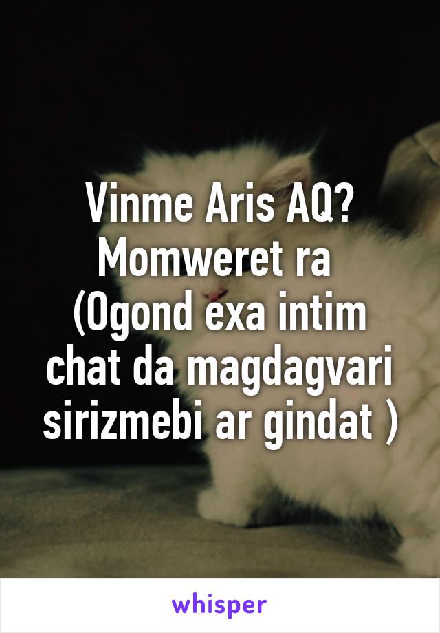 Intim chat