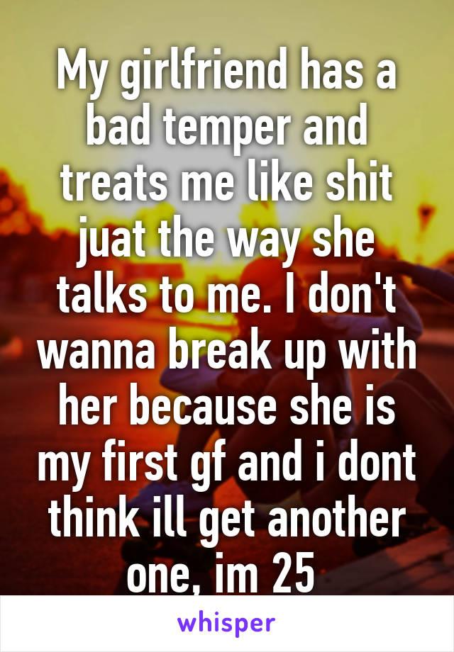 Girlfriend Bad Temper Has A My