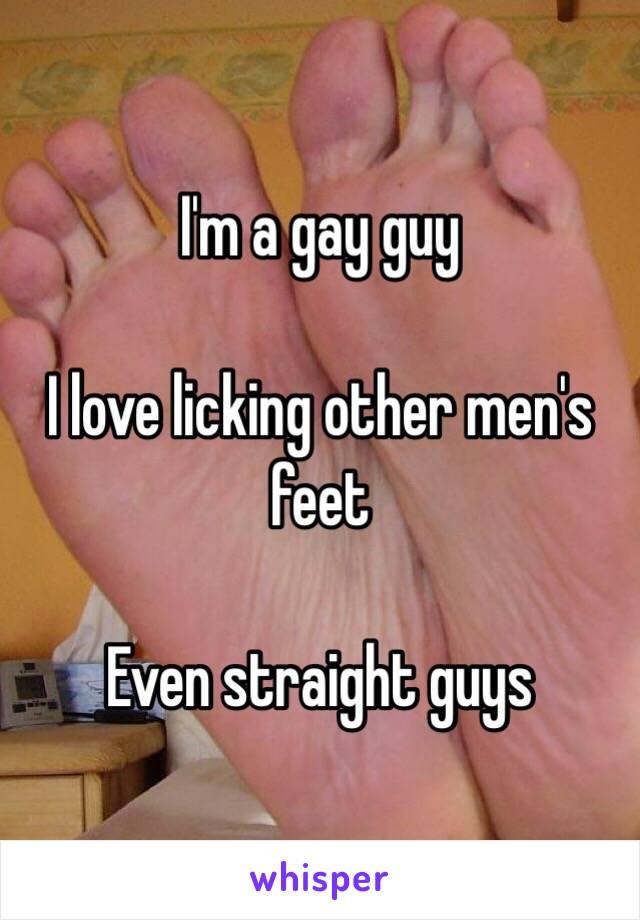 Gay foot men sites