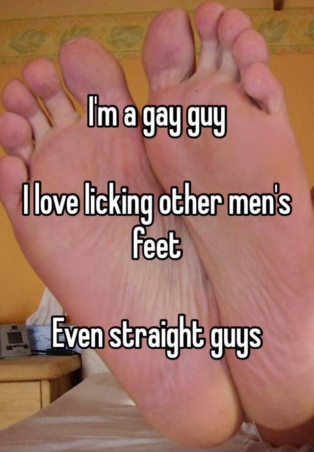 Mature gay licking feet porn