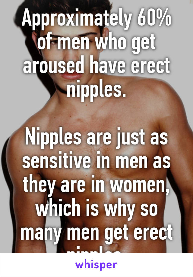 Shaking, why do nipples get erect