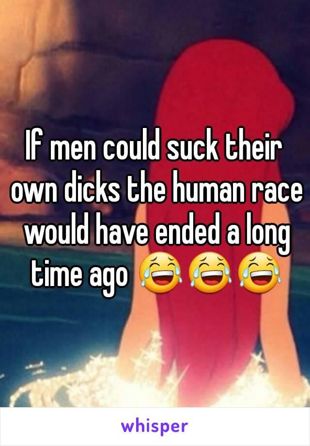 Men who suck their own