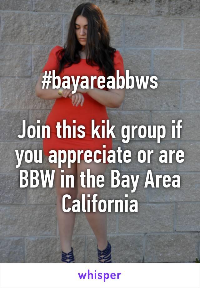 Bay area bbw