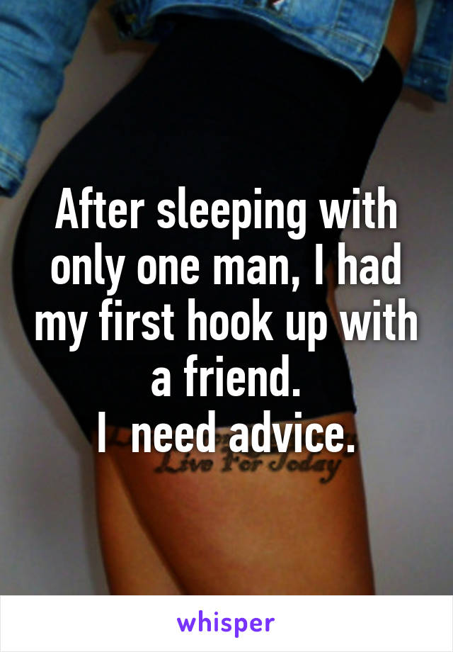 First hook up advice
