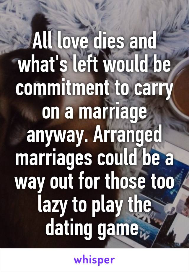 Dating game marriages