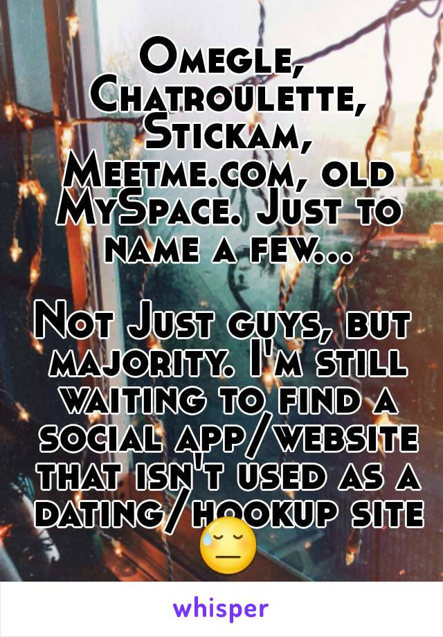 is meetme a hookup site