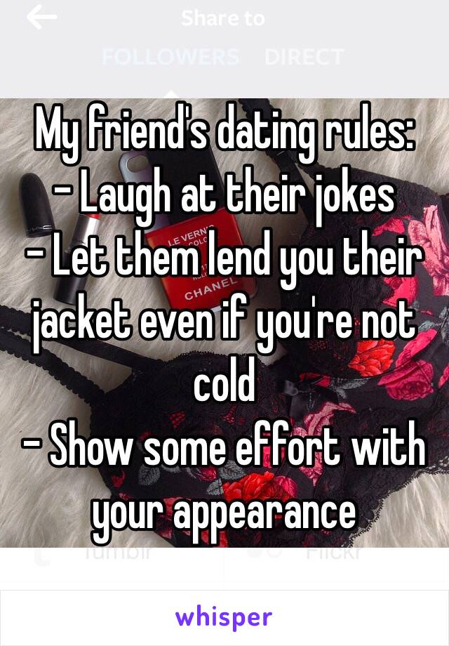 dating legal guidelines