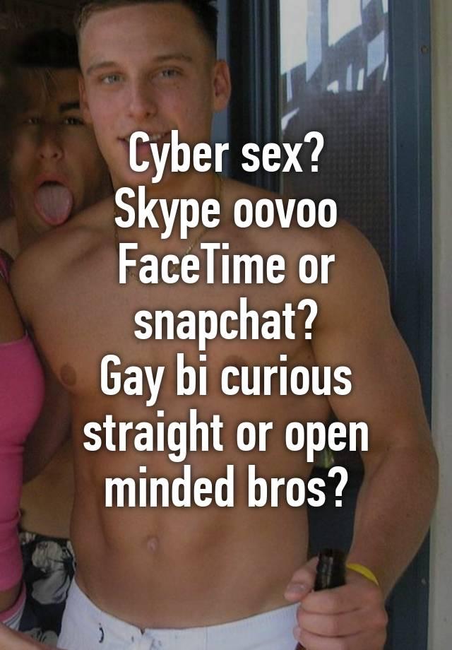 Bi gay skype sex