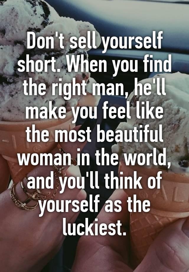 あなたが正しい人を見つけるとき