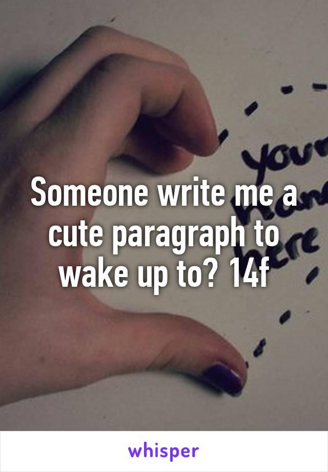 write me up