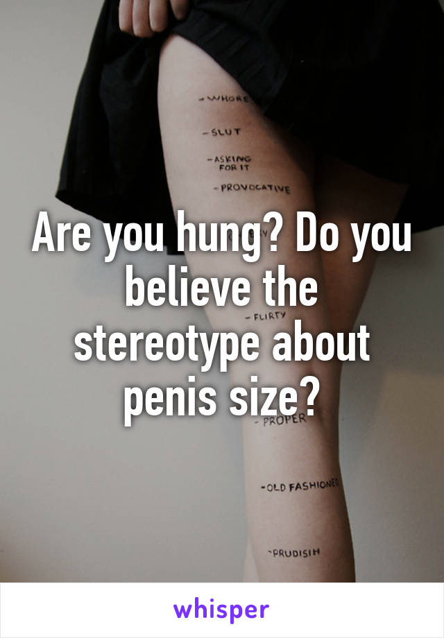 What size is hung