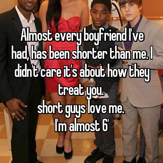 Women who love short men