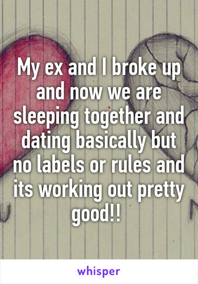 dating rules when to sleep together
