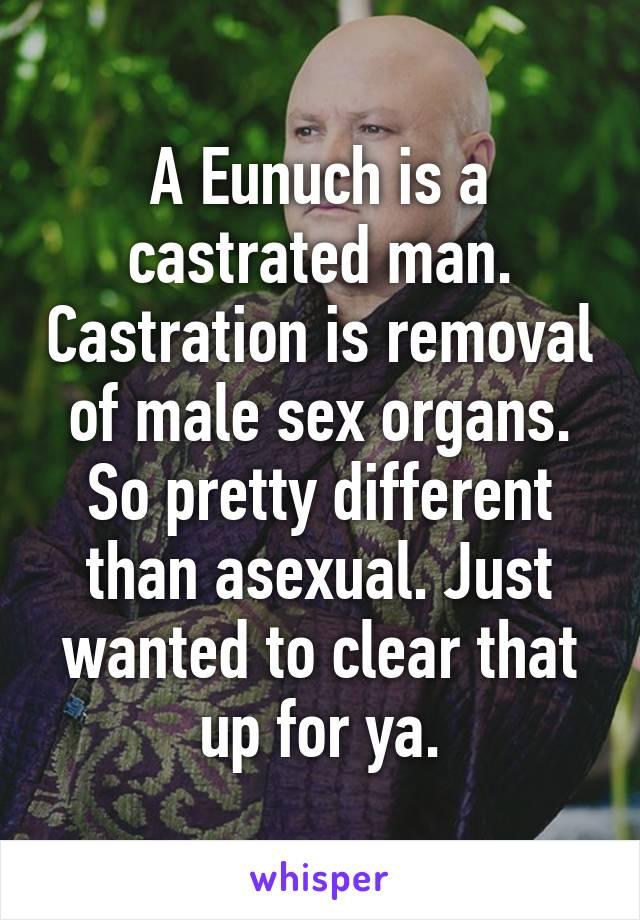 Opinion you Porn captions eunuch