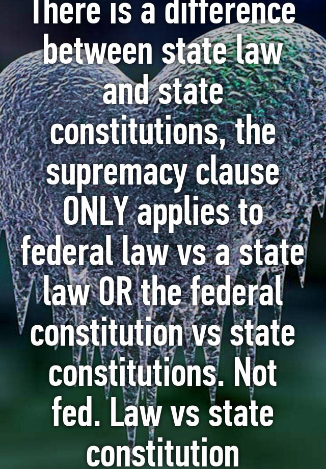 difference between law and constitution