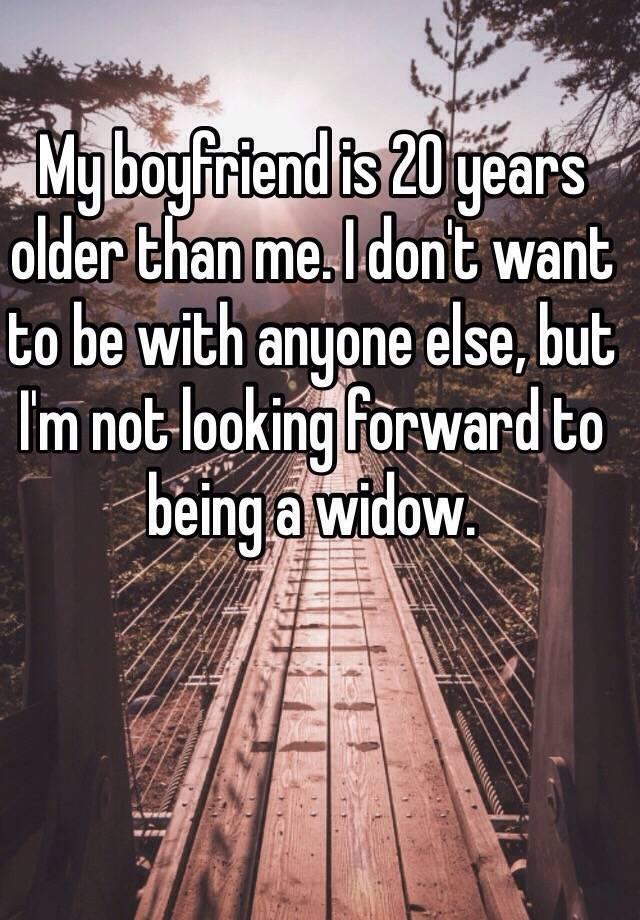 boyfriend 20 years younger