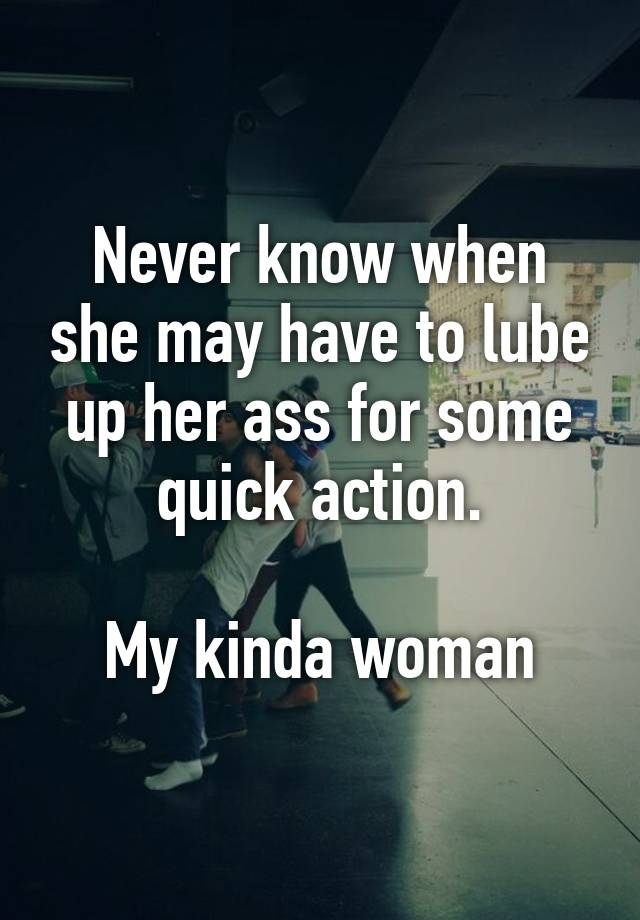 up Lube her