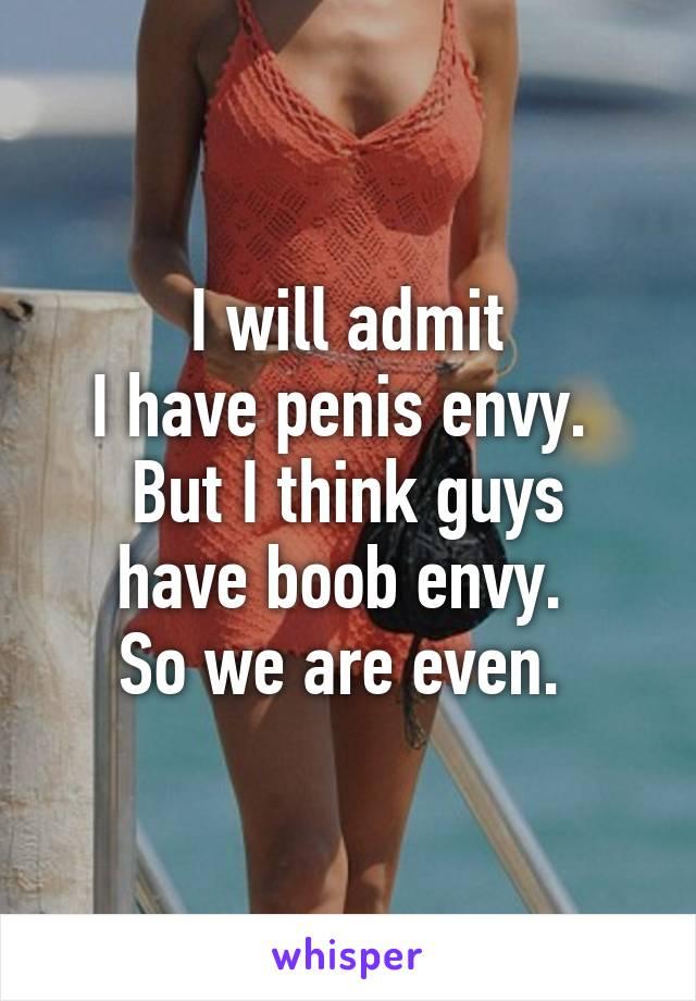 Can men have penis envy