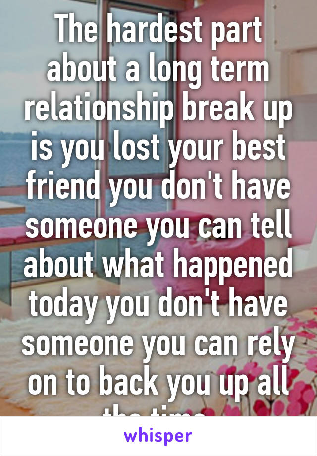 What is a break in relationship