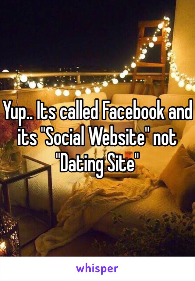 dating sites for facebook