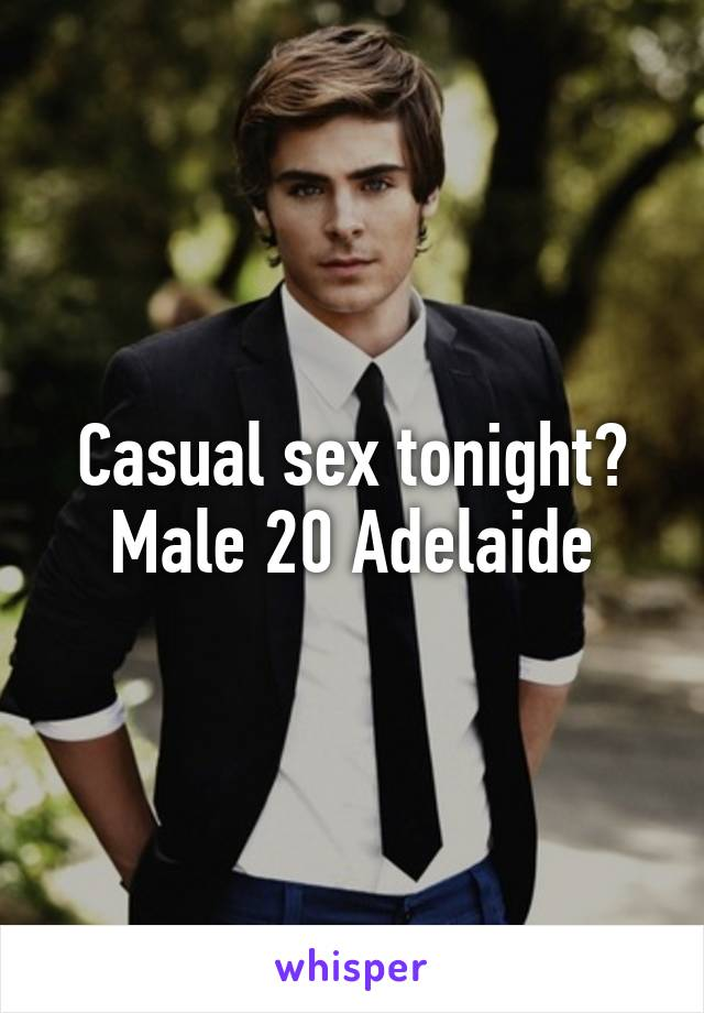 Casual sex in adelaide