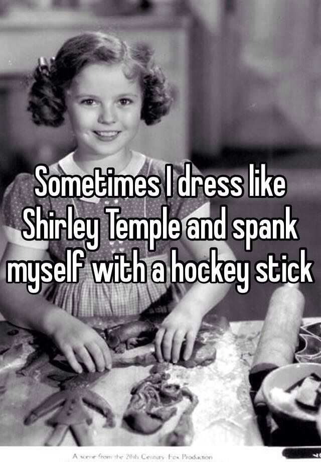 Shirley temple spank