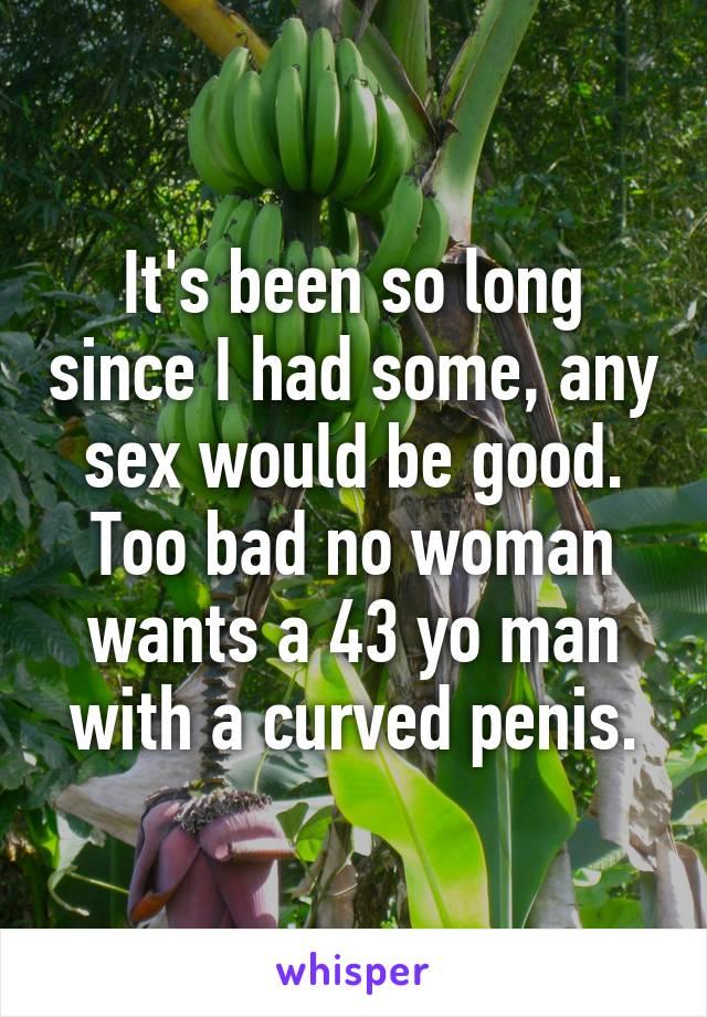 Bad a curved penis Peyronie's disease