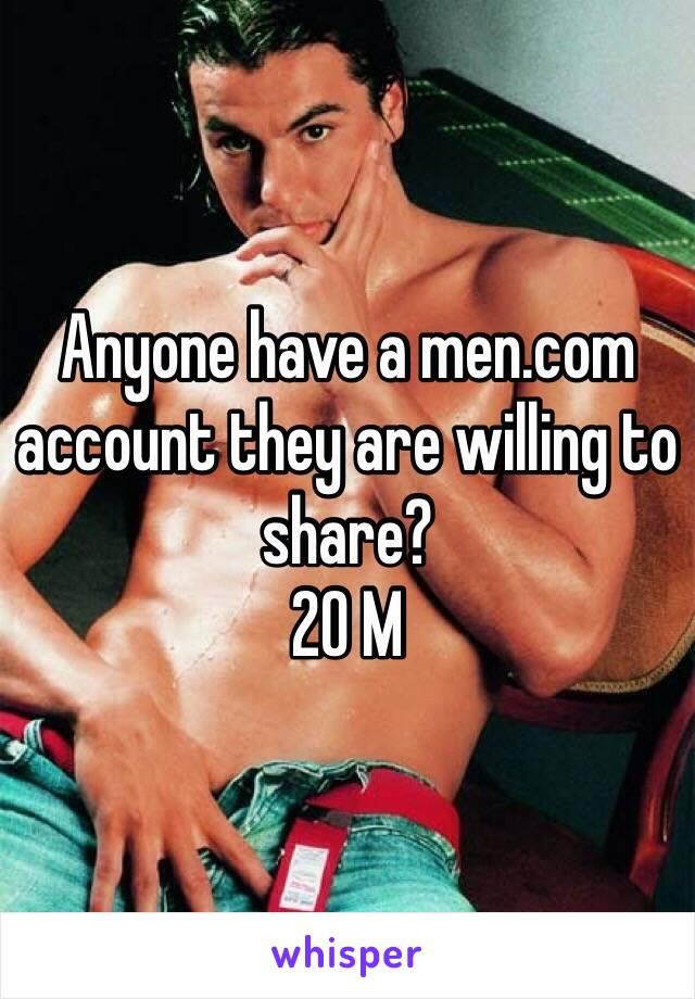 Men com account