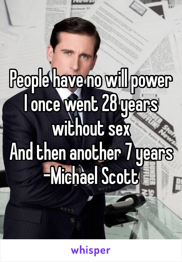 Have not scott sex would