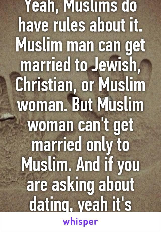 Dating a muslim man as a christian