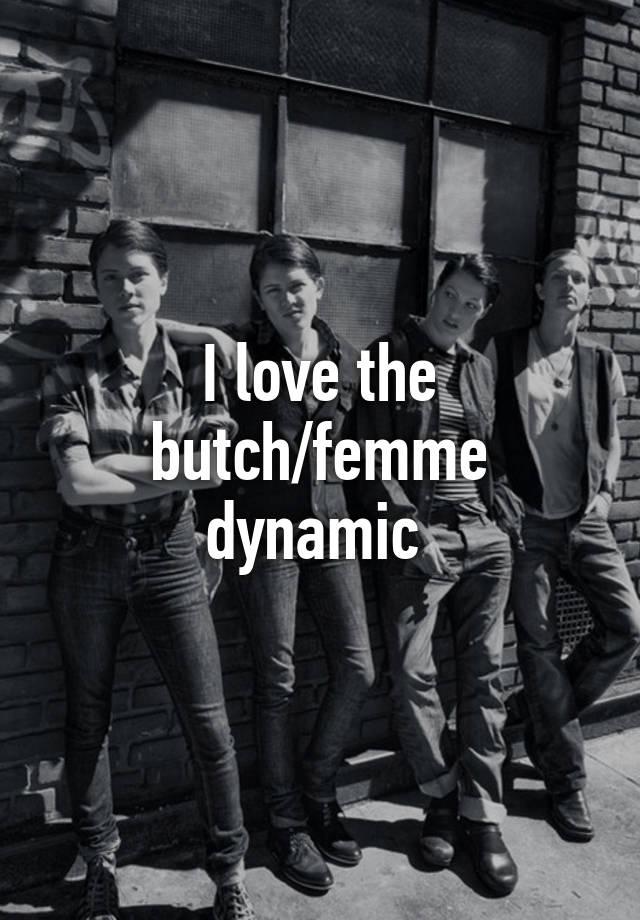 Butch femme dynamic